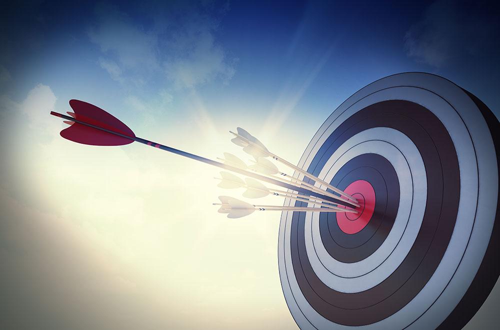 tiro ao alvo - metas par micro empreendedores